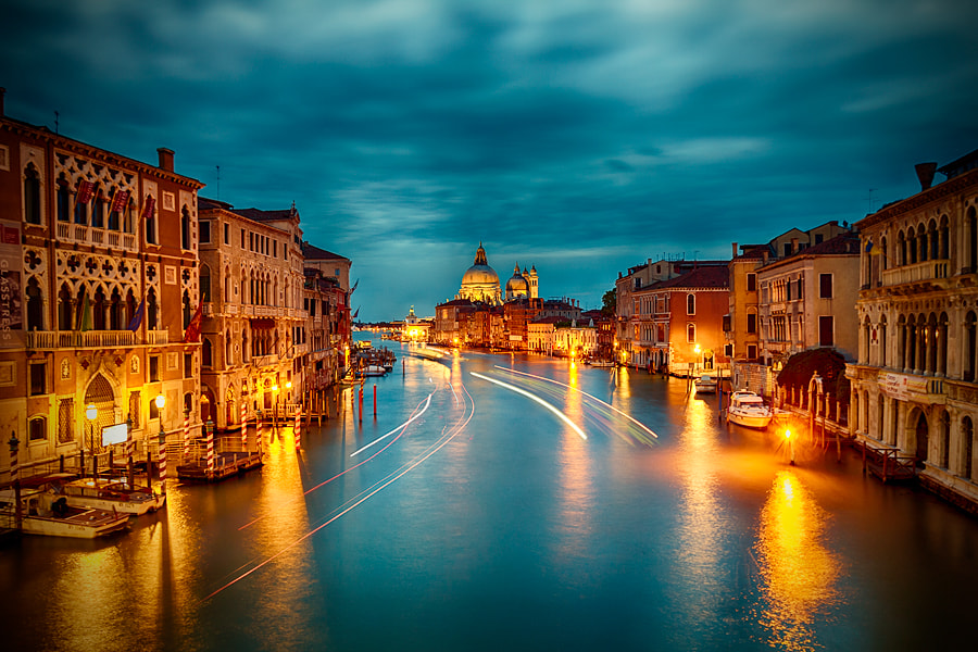 Photograph Venice Lights by Adrian Red on 500px