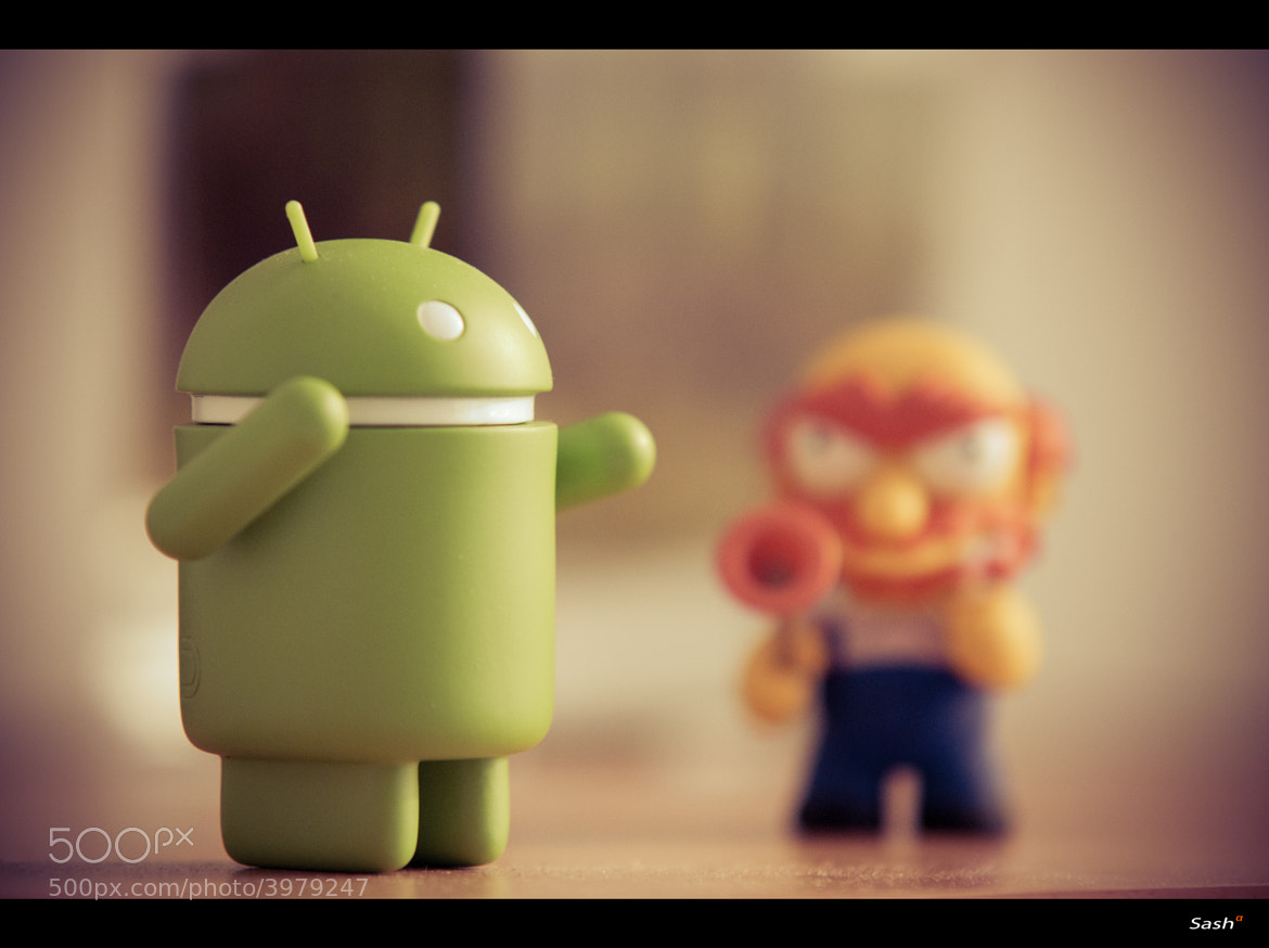 Photograph Android vs. Simpsons by Sasa Bremec on 500px
