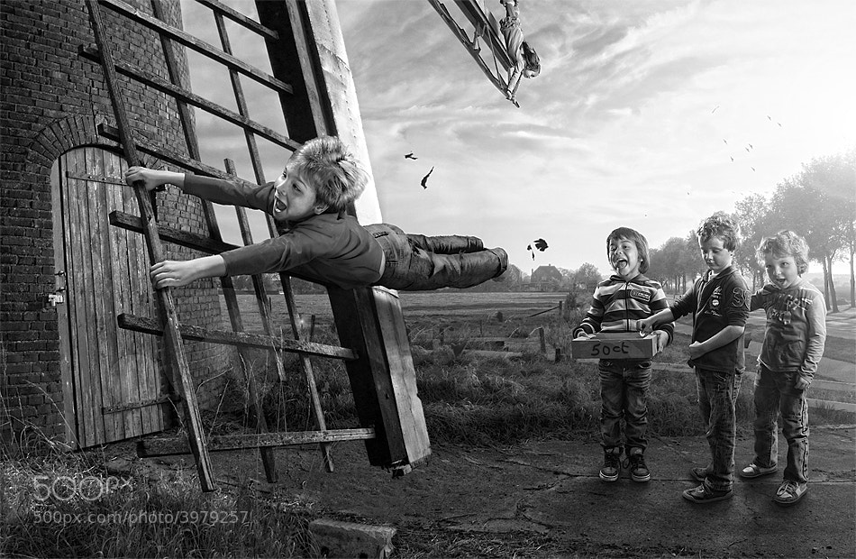 Photograph Windmill fun by Adrian Sommeling on 500px