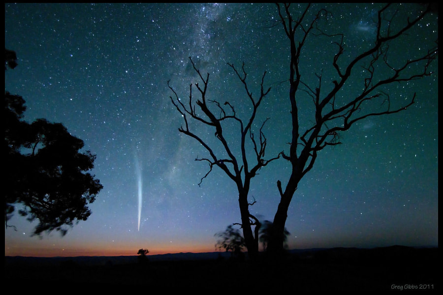 Photograph Comet Lovejoy II by Greg Gibbs on 500px