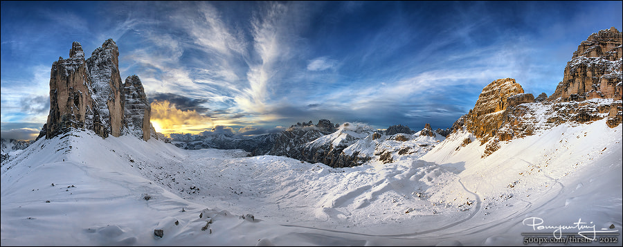 Photograph Stubborn Sun (pano) by Andrew Thrasher on 500px