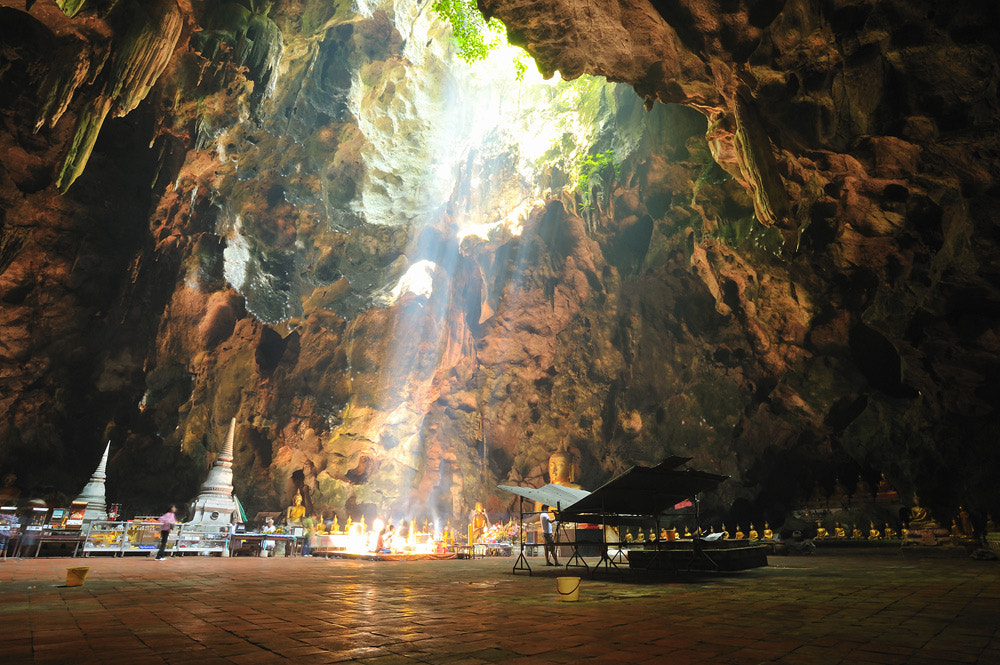 Photograph Sunbeam in cave  ed by real chi on 500px