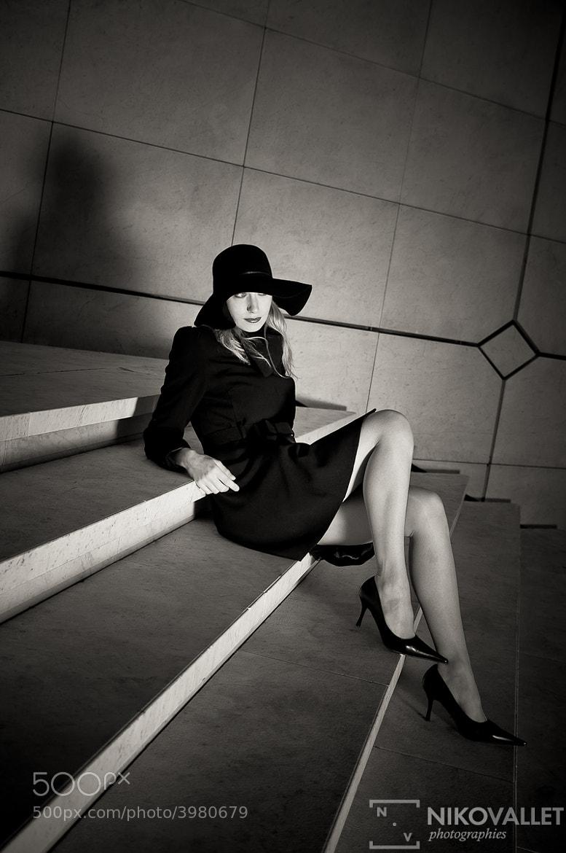 Photograph Mlle M Paris by Niko VALLET on 500px
