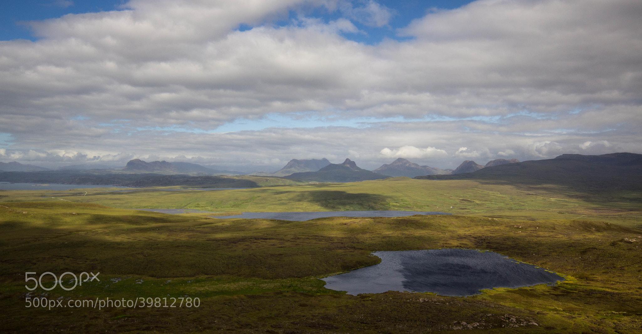 Photograph Highland Mountain Range by Dan James on 500px