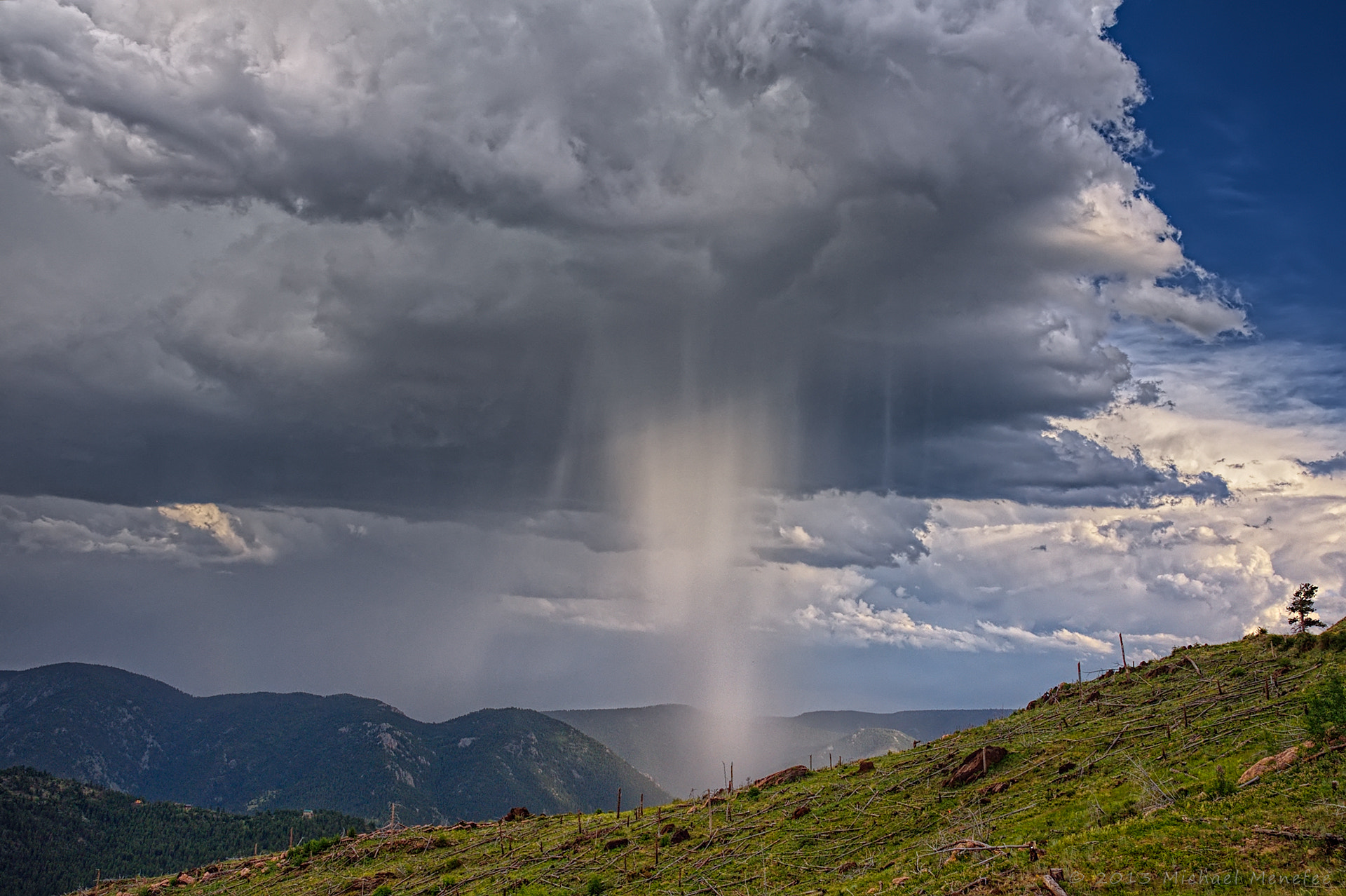 Photograph A Waterfall in the Sky by Michael Menefee on 500px