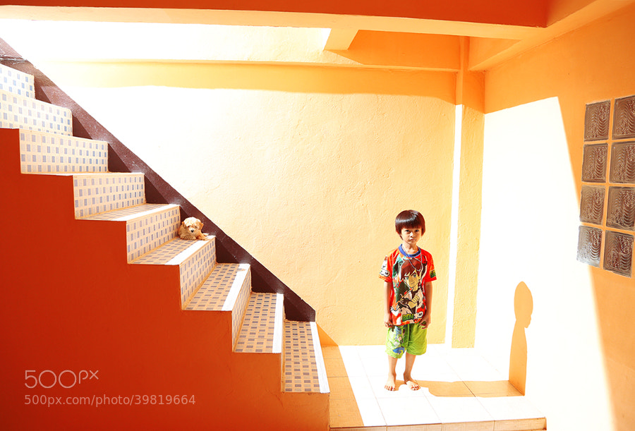 Photograph Ben 10 and a Puppy by Prachit Punyapor on 500px