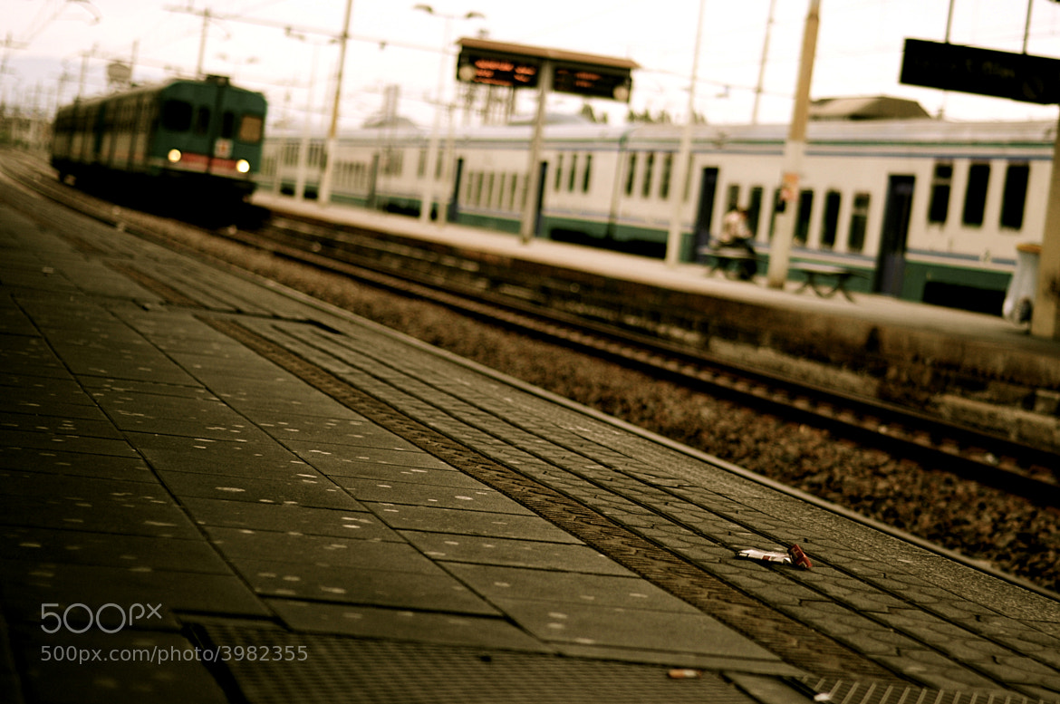 Photograph Downbound Train by ♫ Isa I. on 500px