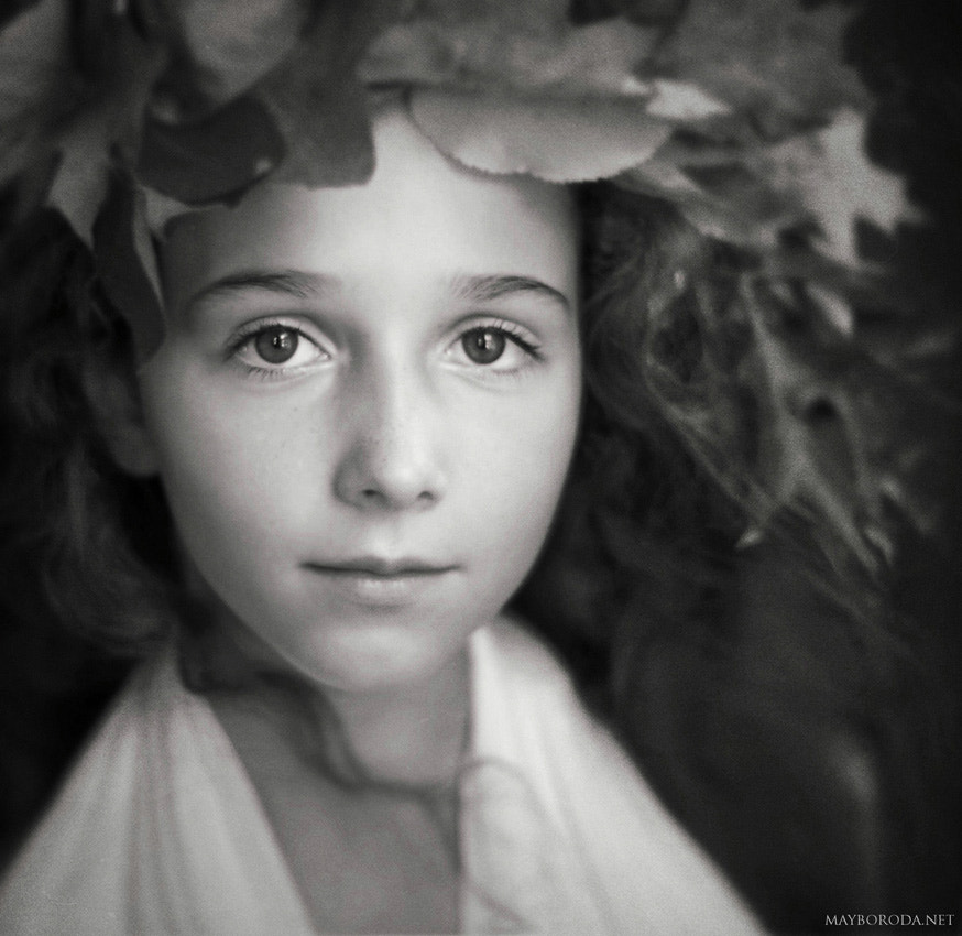 Photograph Portrait With Leaves by Alina Mayboroda on 500px