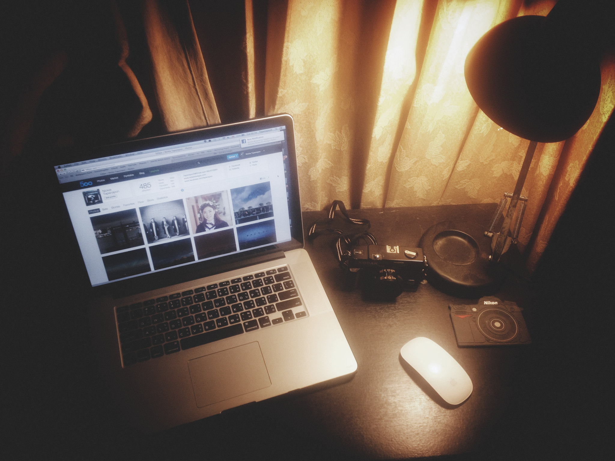 Photograph The Desktop  by Nickie Tapanapon on 500px