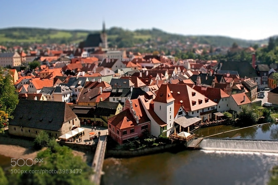 Photograph ?eský krumlov by Dara Pilyugina on 500px