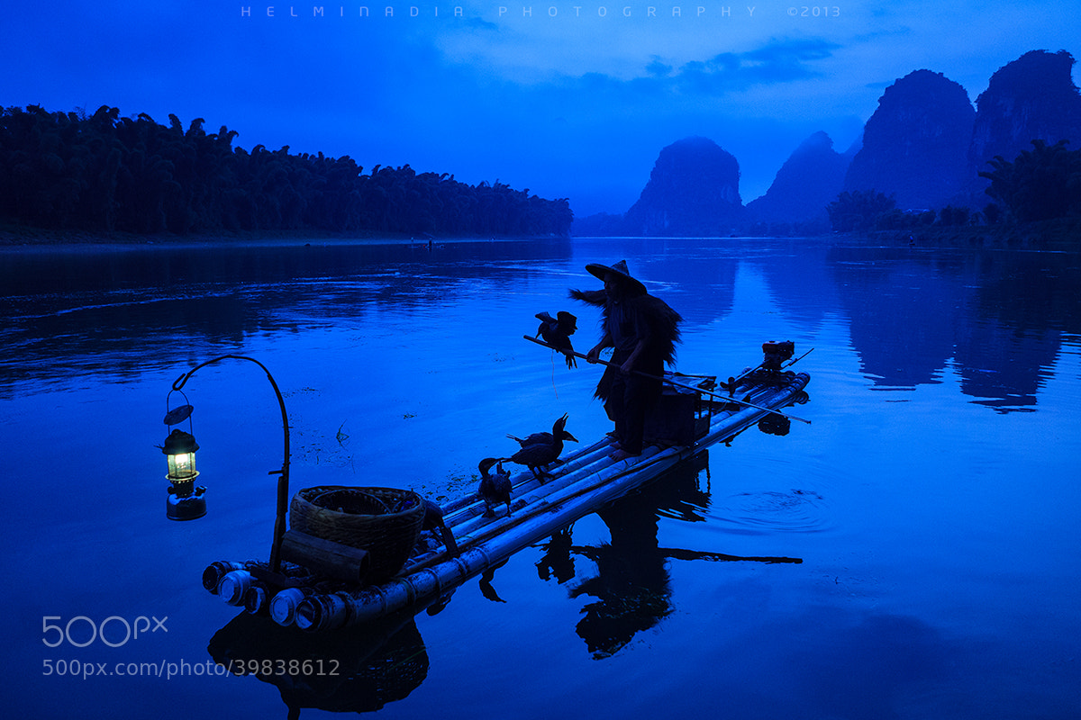 Photograph Fisherman Guilin by Helminadia Ranford on 500px