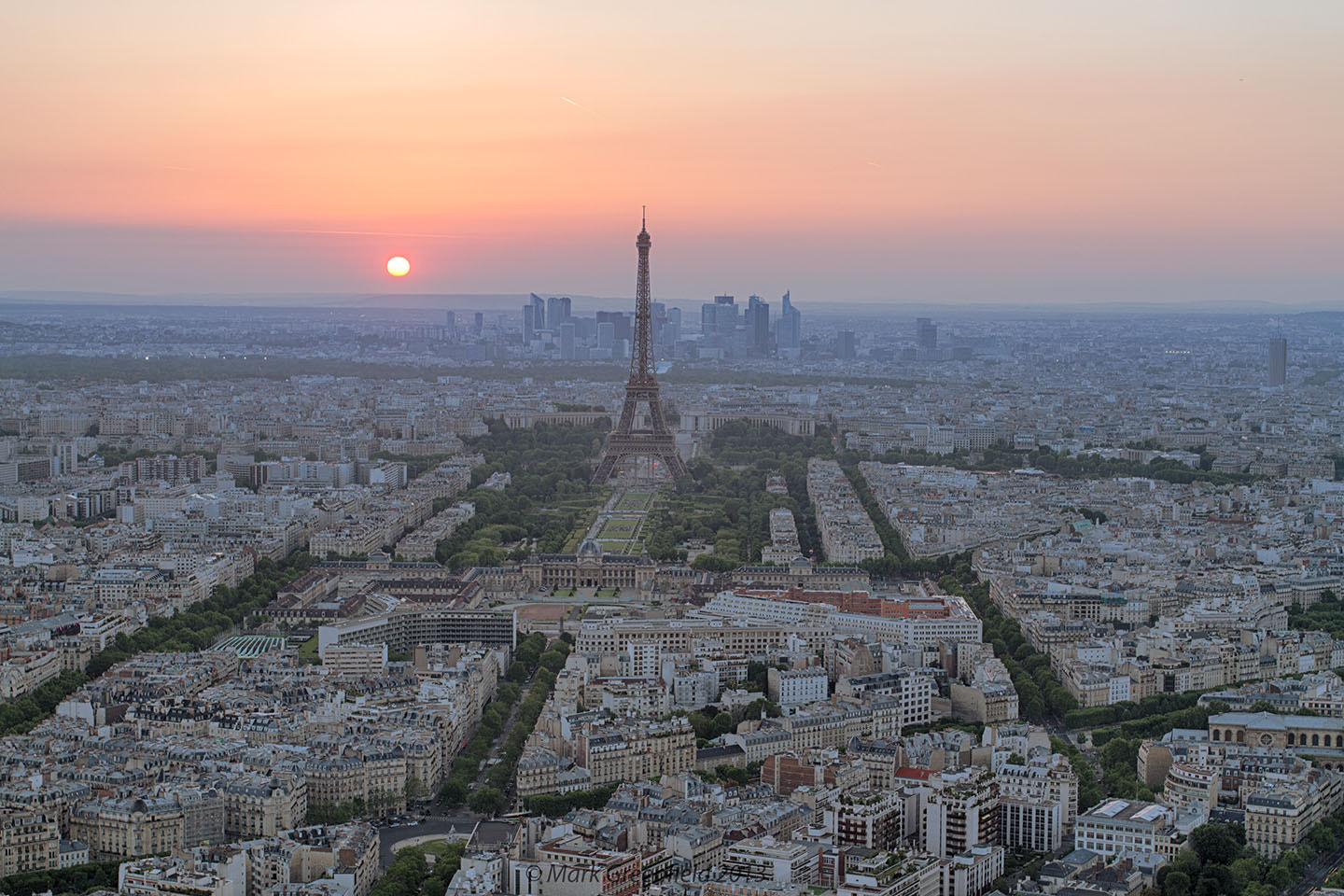 Photograph Paris Sunset by Mark Greenfield on 500px