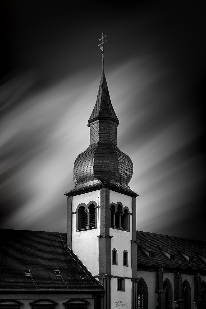 Photograph the church 04 b&w by Max Ziegler on 500px