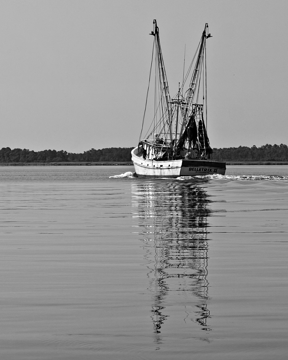 Photograph Shrimpboat Reflections by John Mead on 500px