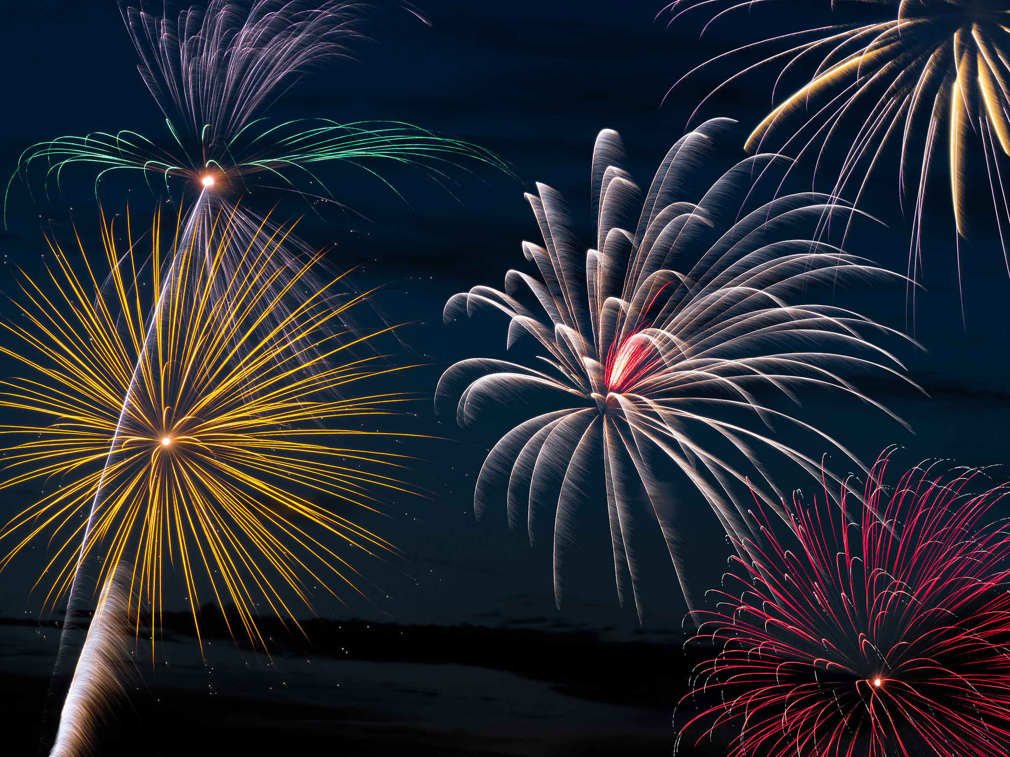 Photograph Pyrotechnic Extravaganza by Kenneth Keifer on 500px