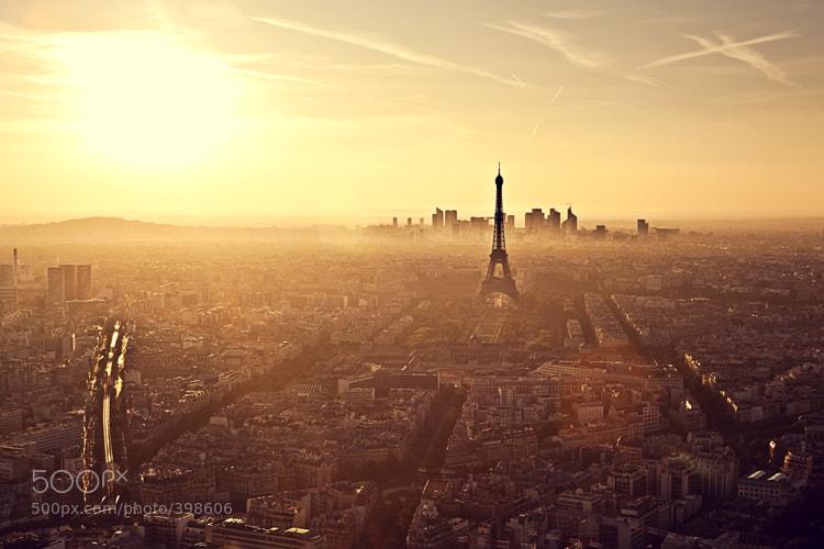 Sunset in paris