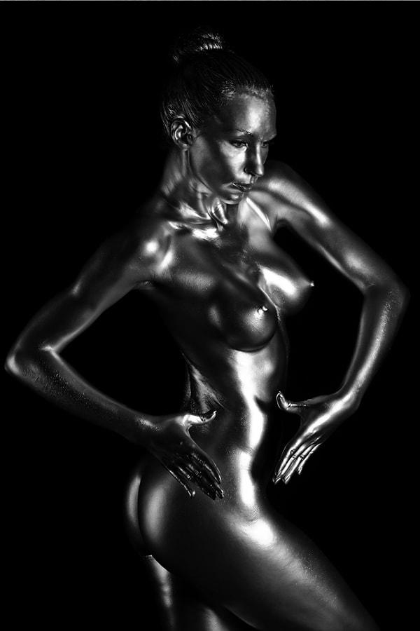 Silver Sculpture - 2