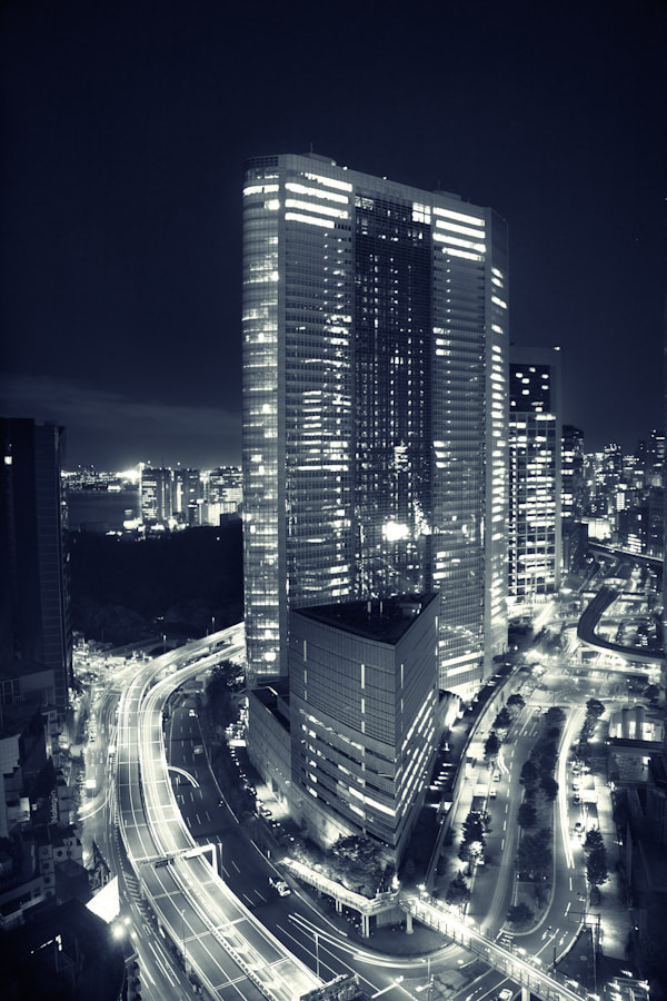 Photograph Tokyo by night by LEON Forado on 500px