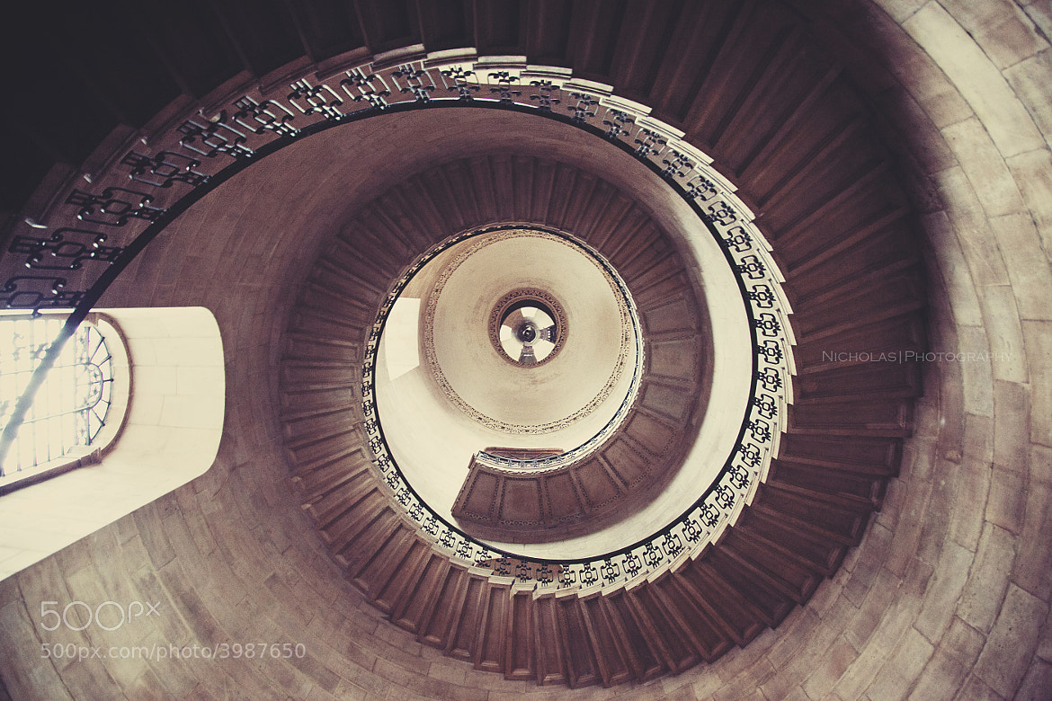 Photograph geometric staircase by Nicholas Lau on 500px