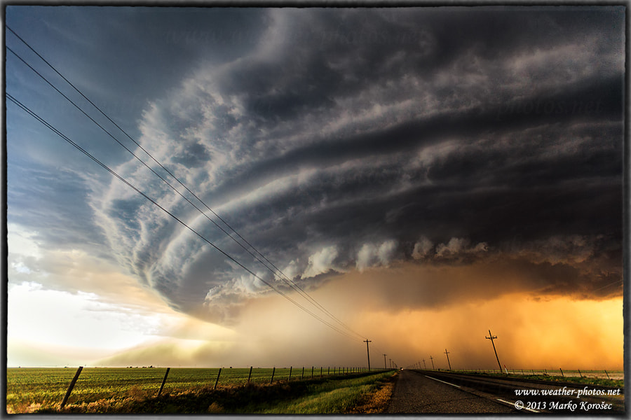Photograph Chased by the storm by Marko Korošec on 500px