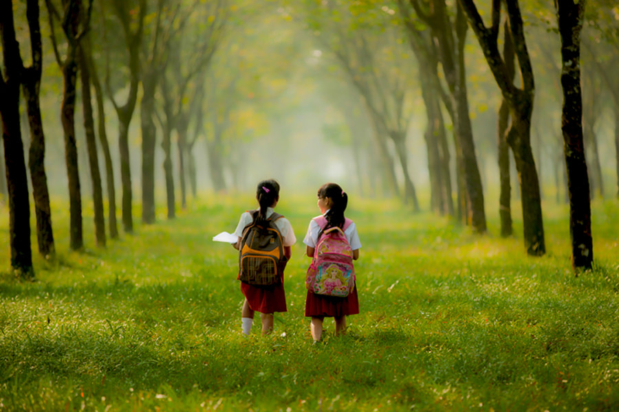 Photograph go to school by Didi Nugroho on 500px