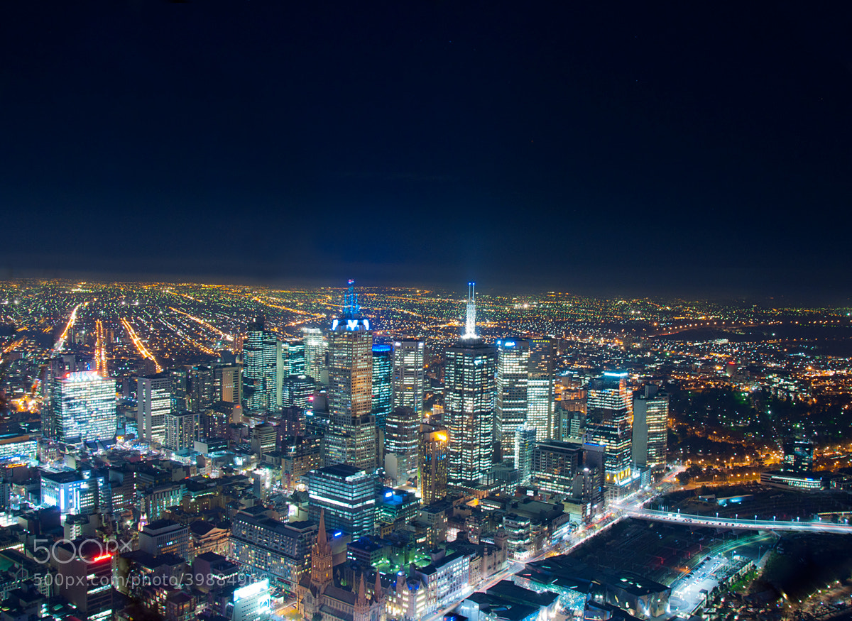 Photograph Big City Lights by Joshua Tagicakibau on 500px