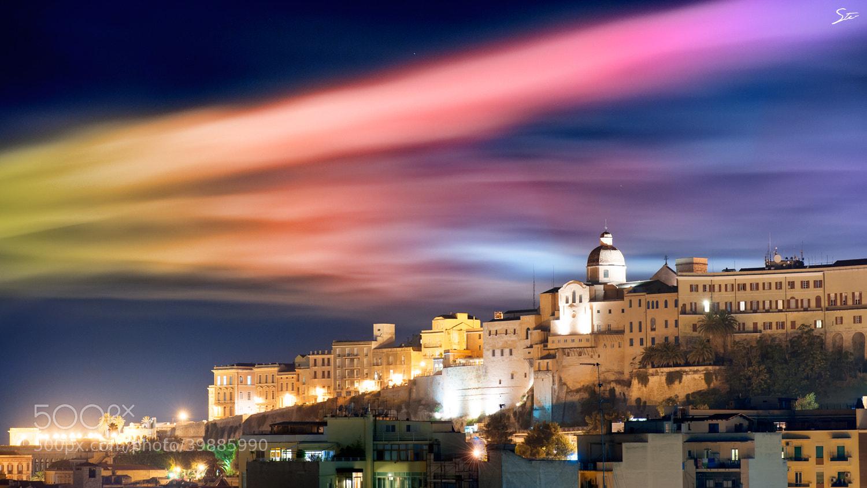 Photograph Colored smoke on Cagliari by Stefano Garau on 500px