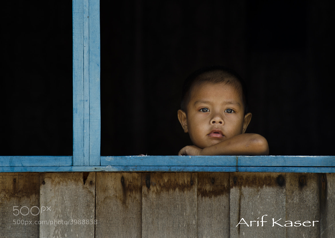 Photograph Into  The Blue Window by Arif  Kaser on 500px