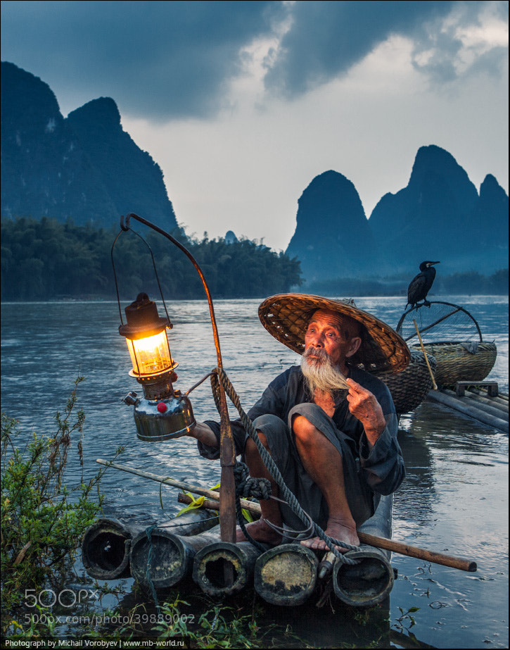 Photograph Fisherman and cormorant by Michail Vorobyev on 500px