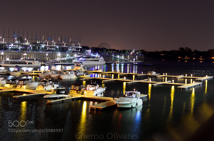 Photograph La nuit à Montréal by Jaime Olivares on 500px