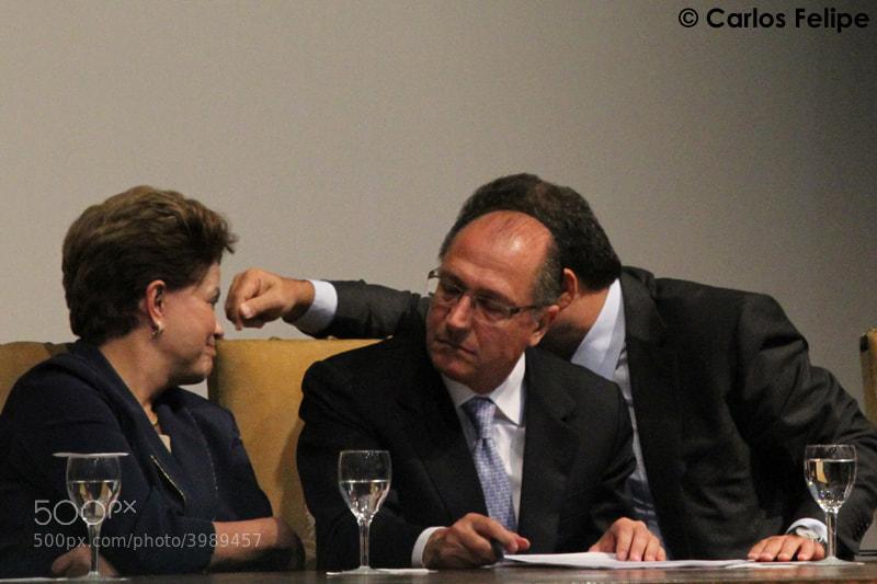 Photograph Dilma Rousseff by Carlos Felipe Repórter Fotográfico on 500px