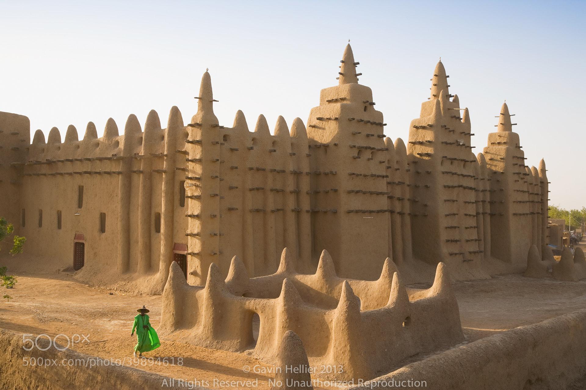 Photograph Africa, West Africa, Mali, Mopti Region, Niger Inland Delta, Djenne, Djenne Mosque by Gavin Hellier on 500px