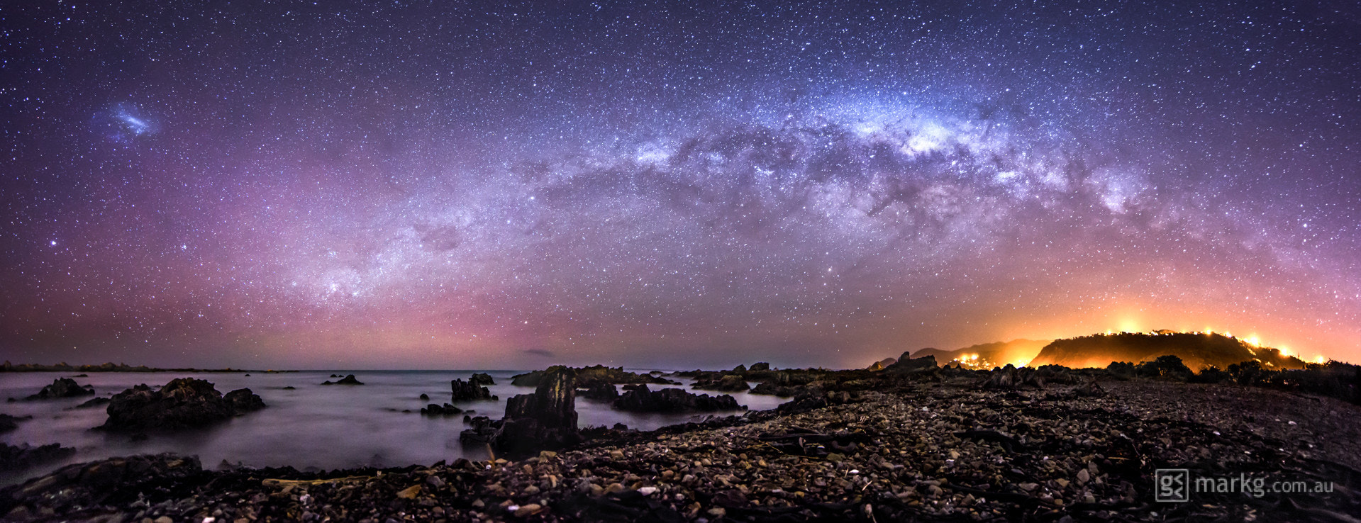 Photograph Princess Bay Aurora and Milky Way by Mark Gee on 500px