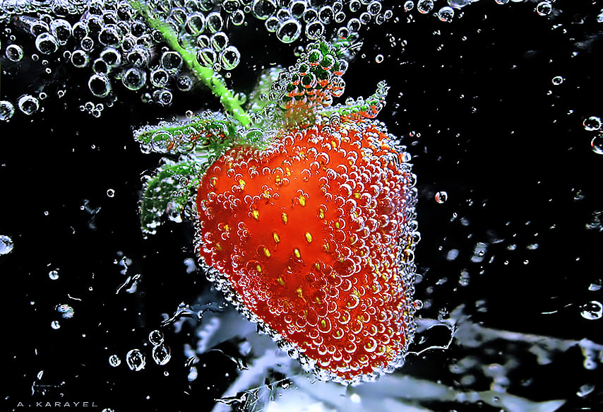 Photograph strawberry by karayelim on 500px