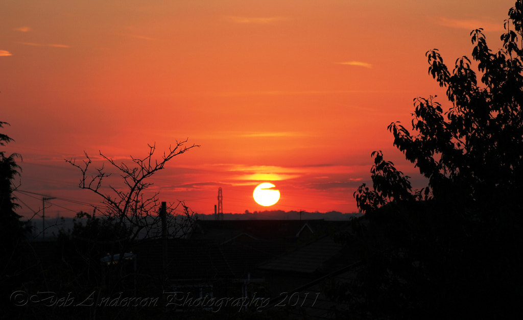 Photograph Sunset Over Chadderton UK by Deborah Anderson-Marland on 500px