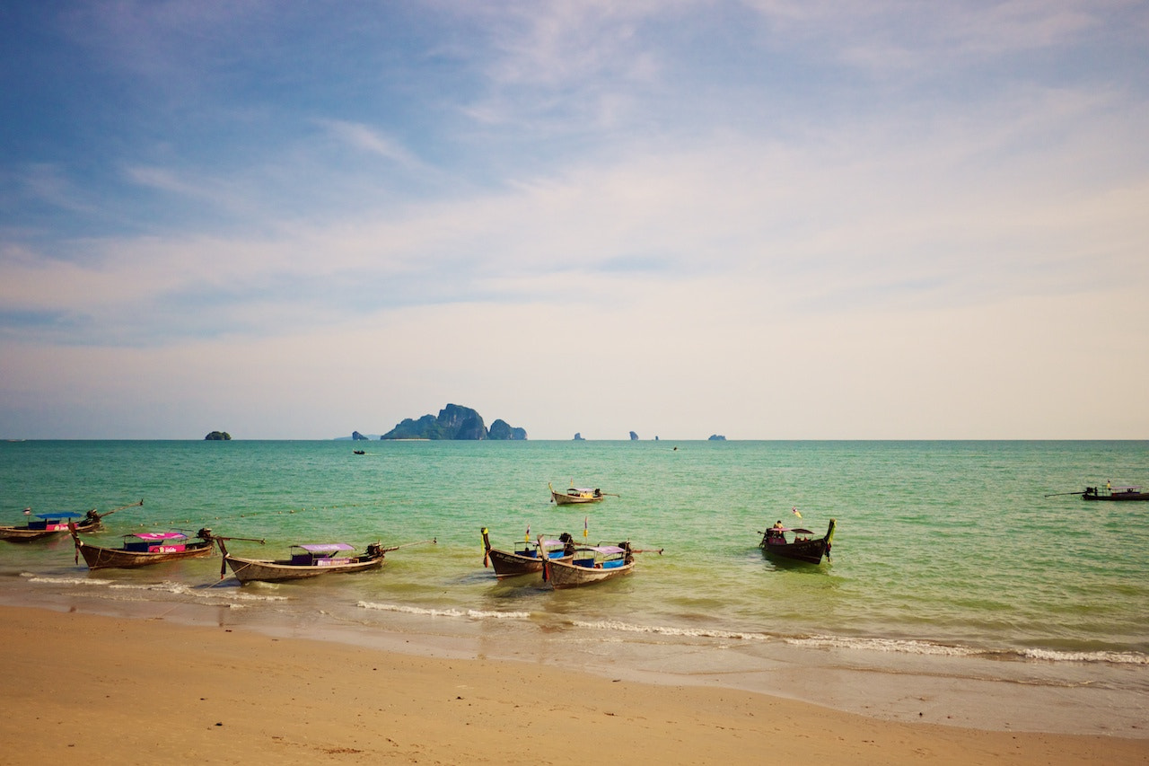 Photograph Ao Nang boat launch by Shane _ on 500px