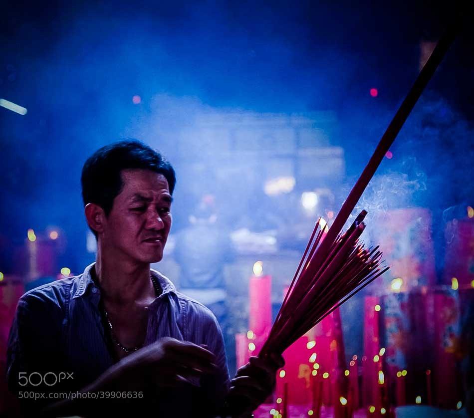 Photograph Holy Blue by Mahesh Krishnamurthy on 500px