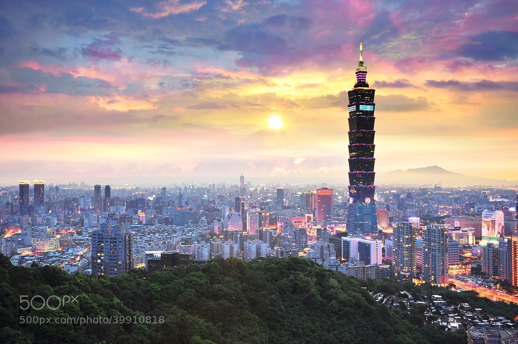 Photograph Taipei 101 Tower by Goenawan Lay on 500px