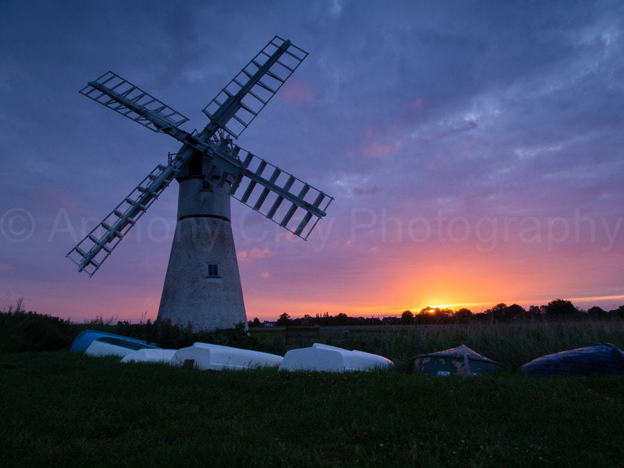 Photograph Thurne Windmill, Norfolk, UK by Anthony Clay on 500px