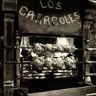 aroma of roasting chicken fills Barcelona street