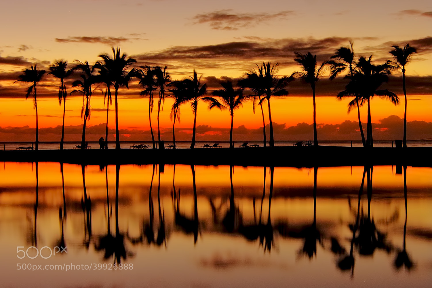 Photograph Anaehoomalu Sunset by Mark Rogers on 500px