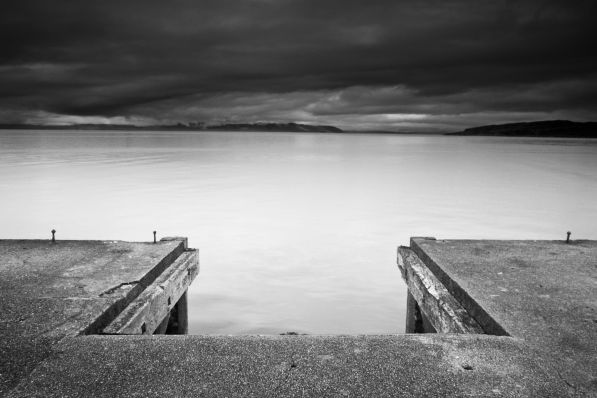 Photograph the Pier at Portencross #1 by Callum Strachan on 500px