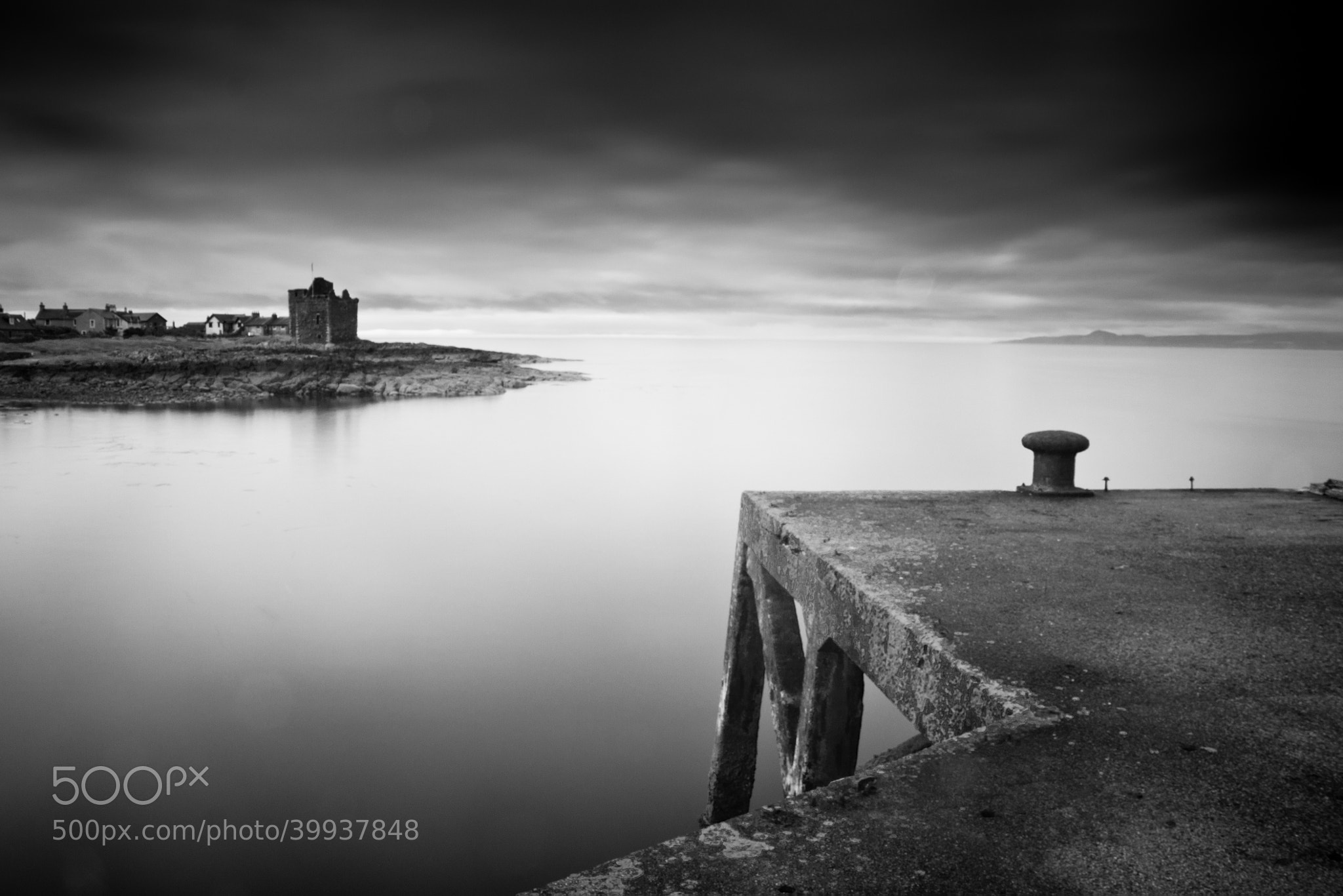 Photograph The Pier at Portencross #2 by Callum Strachan on 500px