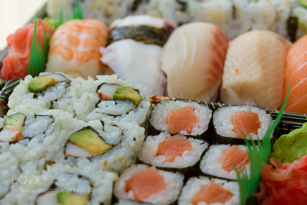 Photograph Sushi by Richard Cervellone on 500px