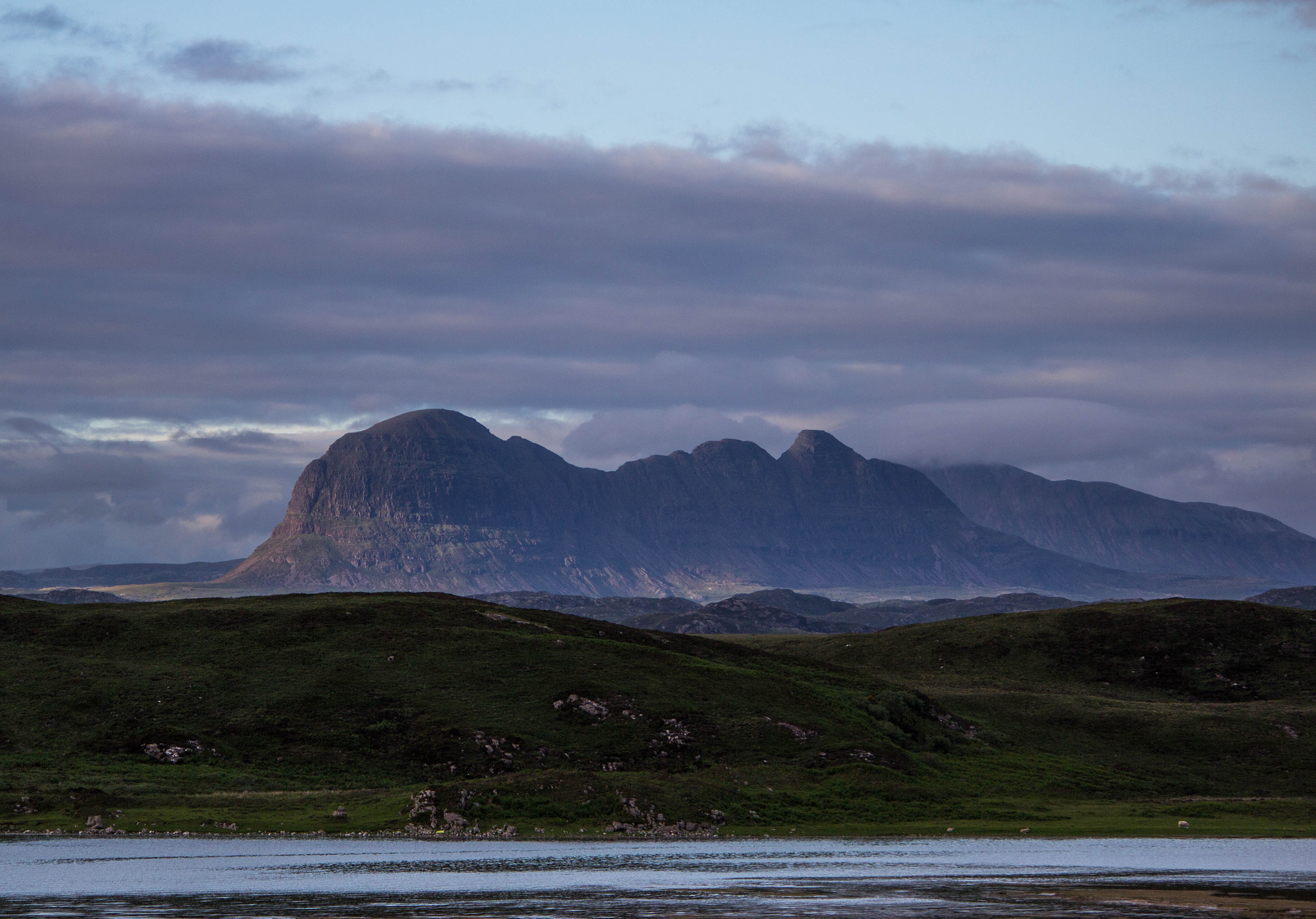 Photograph Sunset at Suilven by Dan James on 500px