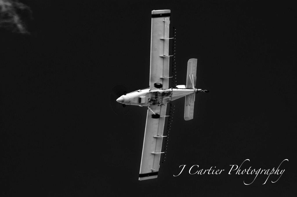 Photograph Crop Duster Belly by Jerome Cartier on 500px