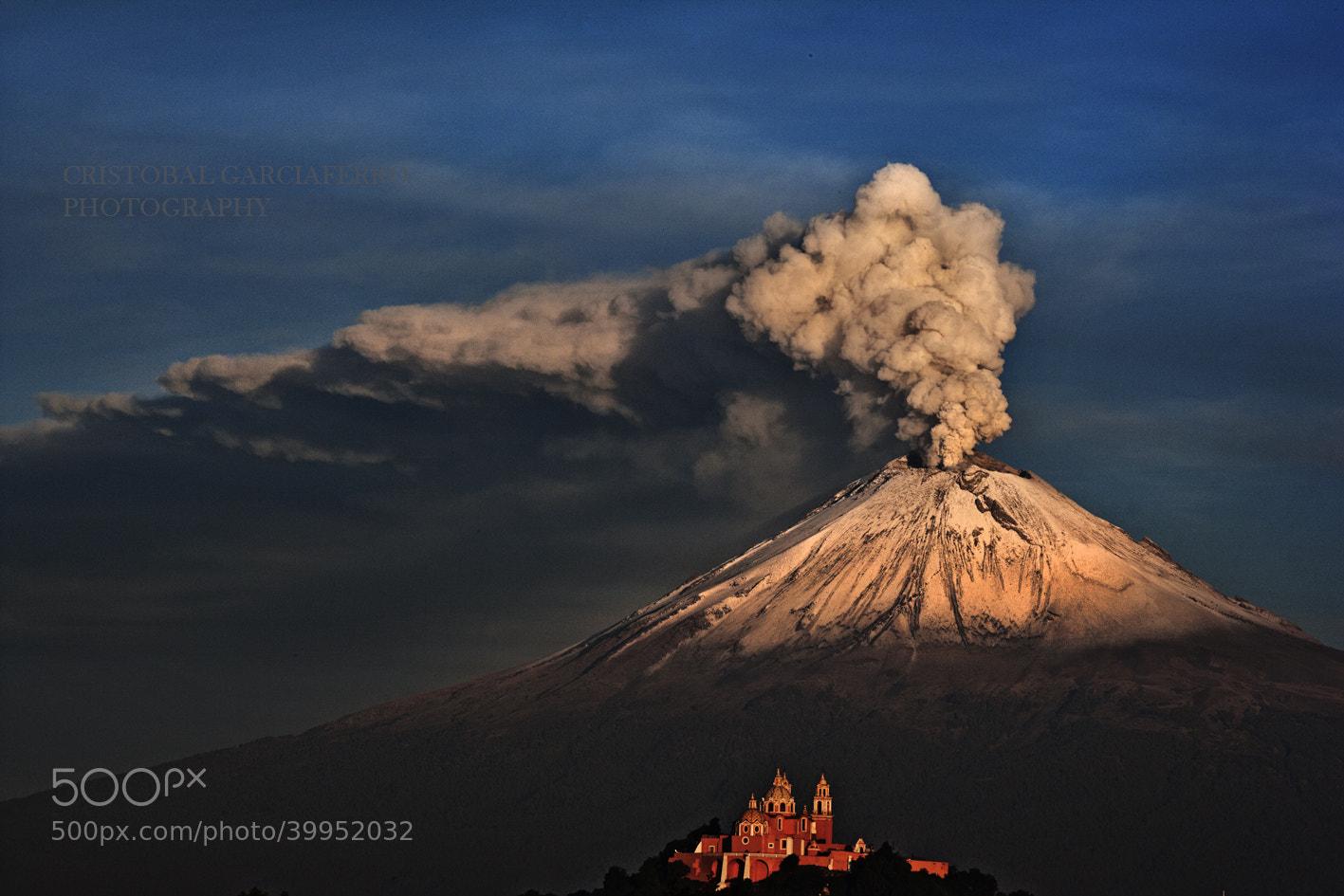 Photograph Popocatepetl this morning by Cristobal Garciaferro Rubio on 500px