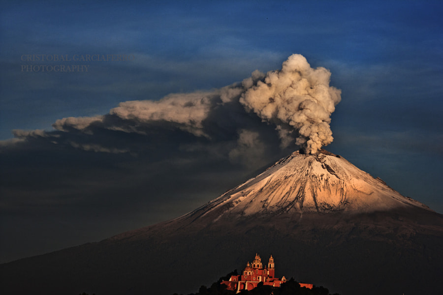 Photograph Popocatepetl this morning by Cristobal Garciaferro Rubio on 500px
