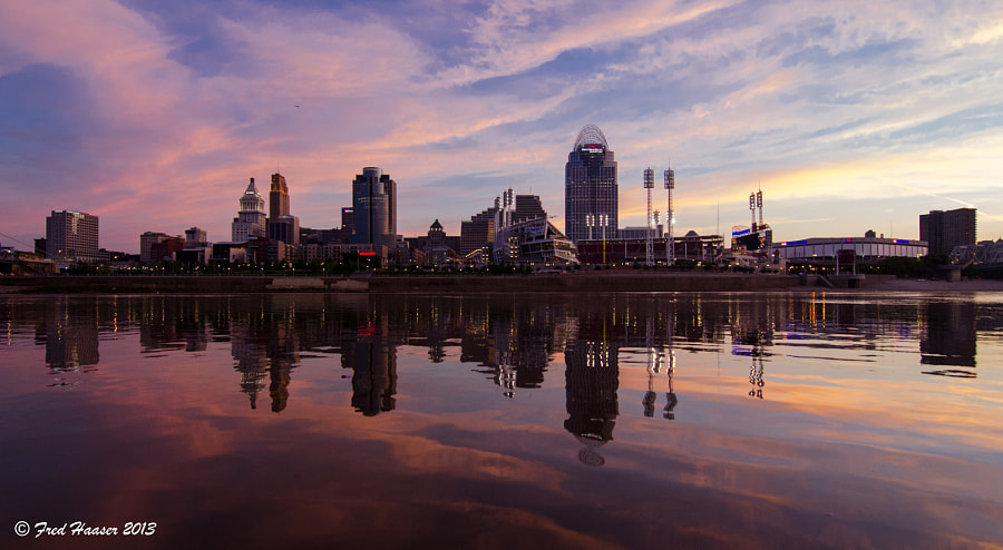 Cincinnati Awakes from Her Sleep by Fred Haaser on 500px.com