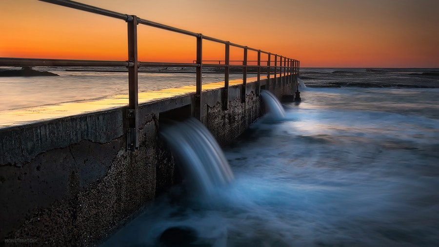 Photograph North Curl Curl Rock Pool by MONSTERMICKY ! on 500px
